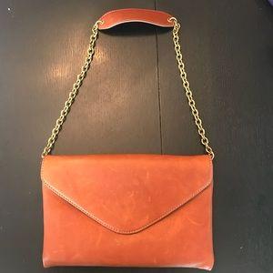 J Crew chain handle purse